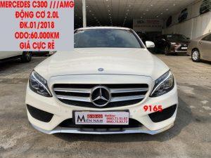 Mercedes C300 ///AMG , Cực Đẹp ,ĐK.01/2018,ID:9165