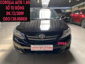 Hiền Toyota Corolla Altis 1.8G gì mà rẻ vậy có 360tr thôi , Máy Zin , Nội Thất đẹp , Giá sốc ,ĐK.12/2009..