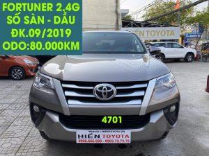 Fortuner 2.4G , Số sàn , Dầu,ĐK.09/2019,ID:4701