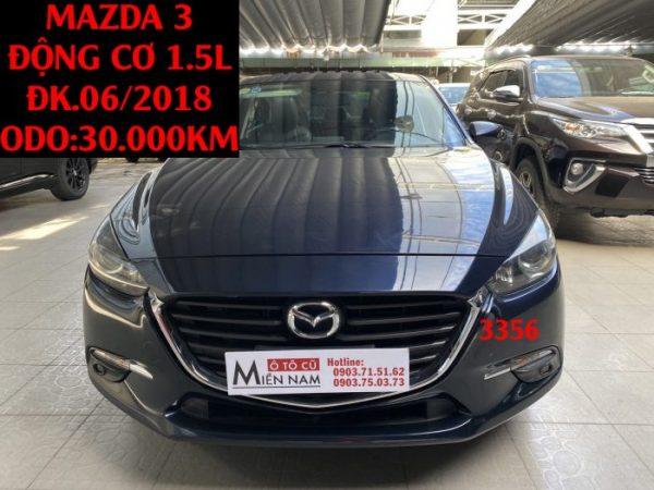 Mazda 3 - Xe lướt 2018 -ĐK.06/2018,ID:3356