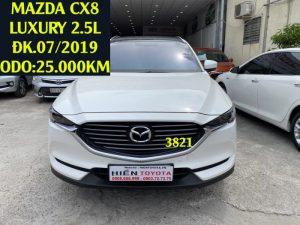 Mazda CX8 2.5L - Luxury -ĐK.07/2019 - ID:3821
