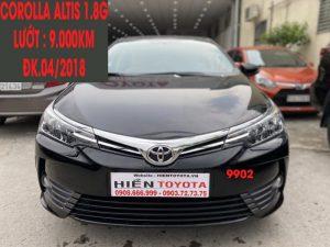 Corolla Altis 1.8G - Siêu Lướt - ĐK.04/2018 -ID:9902