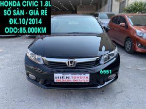 Honda Civic 1.8L - Số sàn - ĐK.10/2014 -ID:6551
