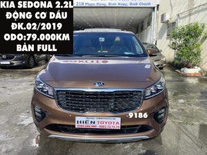 Kia Sedona 2.2L - Dầu - Bản Full -ĐK.02/2019-ID:9186