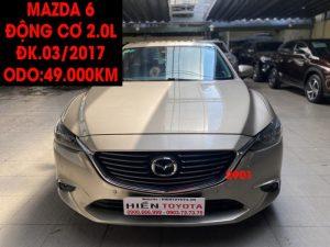 Mazda 6 -2.0L - ĐK.03/2017 - ID:2901
