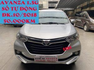 Avanza 1.5 7 Chỗ ĐK; 2018 Nhập Indonesia ID:2283
