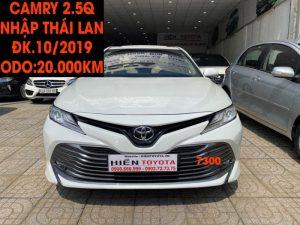 Camry 2.5Q -ĐK.10/2019 -Nhập Khẩu -ID:7300