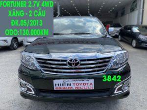 Fortuner 2.7V 4WD - Xe Đẹp - Giá Tốt -ĐK.05/2013,ID:3842