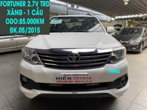 Fortuner 2.7V TRD - ĐK.05/2015 -ID:7995