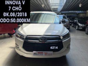 Innova V - Bản cao cấp 7 chỗ - ĐK.08/2018 -ID:6214