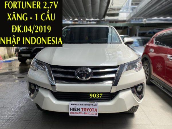 Fortuner 2.7V - ĐK.04/2019 - Xăng - 1 Cầu ,ID:9037