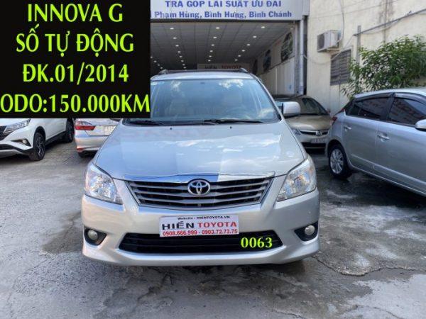 Innova G - Tự Động -ĐK.01/2014 -ID:0063