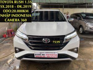 Rush 1.5S - Camera 360 -ĐK.01/2019 -ID:7539