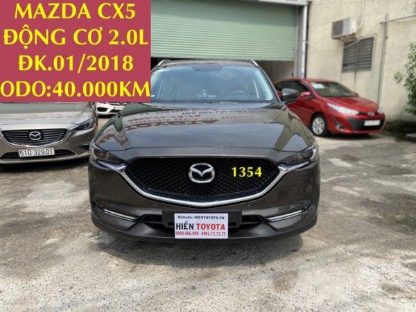 Mazda CX5 - 2.0L -ĐK.01/2018 -ID:1354