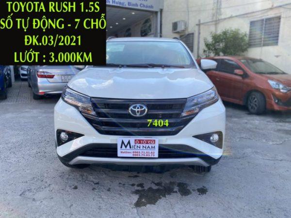 Rush 1.5S - Tự Động - 7 Chỗ -ĐK.03/2021 -3.000km,ID:7404